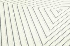 37522-2 cikkszámú tapéta.3d hatású,geometriai mintás,ezüst,fehér,szürke,lemosható,vlies tapéta