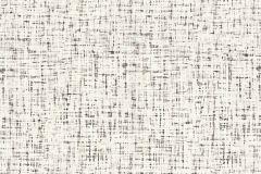 37524-1 cikkszámú tapéta.Retro,textilmintás,fehér,fekete,szürke,súrolható,illesztés mentes,vlies tapéta