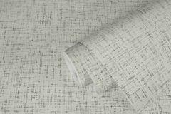 37524-2 cikkszámú tapéta.Textil hatású,textilmintás,fehér,szürke,súrolható,illesztés mentes,vlies tapéta