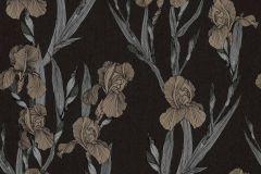 37526-1 cikkszámú tapéta.Természeti mintás,virágmintás,bézs-drapp,fekete,súrolható,vlies tapéta