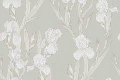 37526-4 cikkszámú tapéta.Rajzolt,természeti mintás,virágmintás,fehér,szürke,súrolható,vlies tapéta