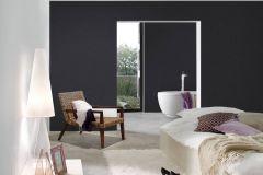 37952-2 cikkszámú tapéta.Egyszínű,textil hatású,szürke,fekete,súrolható,illesztés mentes,vlies tapéta