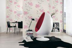 32471-3 cikkszámú tapéta.Természeti mintás,virágmintás,fehér,pink-rózsaszín,szürke,lemosható,illesztés mentes,vlies tapéta