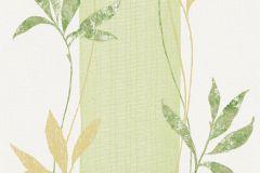 32654-2 cikkszámú tapéta.Csíkos,természeti mintás,virágmintás,barna,zöld,lemosható,illesztés mentes,vlies tapéta