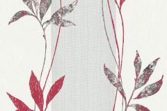 32654-5 cikkszámú tapéta.Csíkos,természeti mintás,virágmintás,piros-bordó,szürke,lemosható,illesztés mentes,vlies tapéta