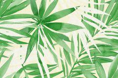 34125-2 cikkszámú tapéta.Rajzolt,természeti mintás,fehér,sárga,zöld,lemosható,vlies tapéta