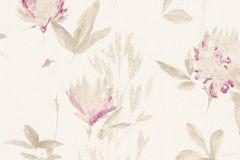 34498-3 cikkszámú tapéta.Csillámos,természeti mintás,virágmintás,bézs-drapp,fehér,piros-bordó,lemosható,vlies tapéta