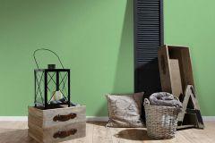 3460-18 cikkszámú tapéta.Egyszínű,textilmintás,zöld,lemosható,illesztés mentes,vlies tapéta