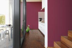 3472-51 cikkszámú tapéta.Egyszínű,textilmintás,piros-bordó,lemosható,illesztés mentes,vlies tapéta