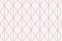 36575-3 cikkszámú tapéta.Absztrakt,geometriai mintás,arany,pink-rózsaszín,lemosható,vlies tapéta