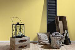 3405-42 cikkszámú tapéta.Egyszínű,sárga,súrolható,illesztés mentes,vlies tapéta