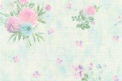 35873-3 cikkszámú tapéta.Különleges felületű,különleges motívumos,virágmintás,kék,lila,türkiz,zöld,súrolható,vlies tapéta