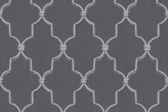 36502-3 cikkszámú tapéta.Különleges felületű,különleges motívumos,szürke,lemosható,vlies tapéta