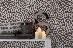 36503-2 cikkszámú tapéta.állatok,különleges felületű,különleges motívumos,arany,barna,fehér,lemosható,vlies tapéta