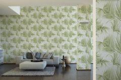 36505-1 cikkszámú tapéta.Különleges felületű,természeti mintás,fehér,zöld,lemosható,vlies tapéta