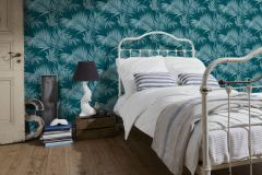36505-5 cikkszámú tapéta.Különleges felületű,természeti mintás,kék,türkiz,lemosható,vlies tapéta