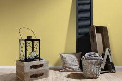 36517-4 cikkszámú tapéta.Egyszínű,textilmintás,sárga,lemosható,illesztés mentes,vlies tapéta