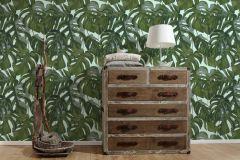 36519-3 cikkszámú tapéta.Különleges felületű,természeti mintás,zöld,lemosható,vlies tapéta