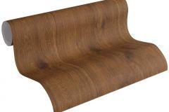 30043-1 cikkszámú tapéta.Fa hatású-fa mintás,barna,súrolható,illesztés mentes,vlies tapéta