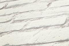 31943-1 cikkszámú tapéta.3d hatású,kőhatású-kőmintás,retro,fehér,lemosható,vlies tapéta