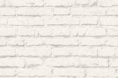 34399-2 cikkszámú tapéta.3d hatású,kőhatású-kőmintás,retro,fehér,súrolható,vlies tapéta