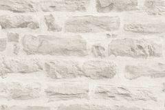 35580-4 cikkszámú tapéta.3d hatású,kőhatású-kőmintás,retro,szürke,súrolható,vlies tapéta