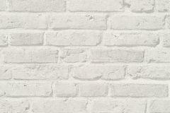 35581-4 cikkszámú tapéta.3d hatású,kőhatású-kőmintás,retro,fehér,súrolható,vlies tapéta
