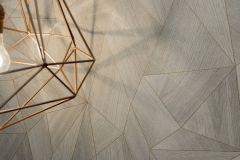 36133-2 cikkszámú tapéta.Geometriai mintás,bronz,szürke,súrolható,vlies tapéta