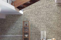 36139-4 cikkszámú tapéta.3d hatású,kőhatású-kőmintás,retro,szürke,súrolható,vlies tapéta