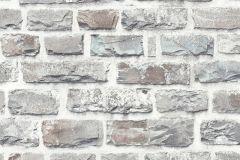36140-3 cikkszámú tapéta.3d hatású,kőhatású-kőmintás,szürke,súrolható,vlies tapéta