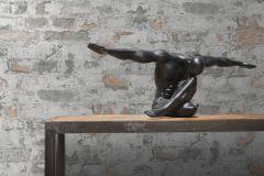 36929-2 cikkszámú tapéta.Kőhatású-kőmintás,retro,narancs-terrakotta,szürke,súrolható,vlies tapéta