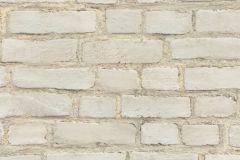 37414-1 cikkszámú tapéta.3d hatású,kőhatású-kőmintás,retro,fehér,szürke,súrolható,vlies tapéta