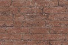 37747-2 cikkszámú tapéta.3d hatású,kőhatású-kőmintás,retro,barna,lemosható,vlies tapéta