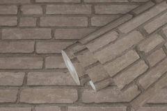 37747-3 cikkszámú tapéta.3d hatású,kőhatású-kőmintás,retro,szürke,lemosható,vlies tapéta