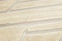 6623-23 cikkszámú tapéta.Kőhatású-kőmintás,retro,bézs-drapp,vajszín,lemosható,vlies tapéta