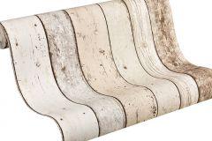 8951-10 cikkszámú tapéta.Csíkos,fa hatású-fa mintás,barna,szürke,súrolható,illesztés mentes,vlies tapéta