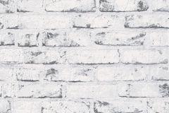 9078-37 cikkszámú tapéta.3d hatású,kőhatású-kőmintás,retro,fehér,fekete,szürke,lemosható,vlies tapéta