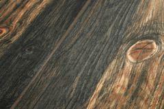 9086-12 cikkszámú tapéta.3d hatású,csíkos,fa hatású-fa mintás,barna,fekete,kék,súrolható,illesztés mentes,vlies tapéta