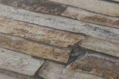 9142-17 cikkszámú tapéta.3d hatású,fotórealisztikus,kőhatású-kőmintás,barna,szürke,súrolható,vlies tapéta