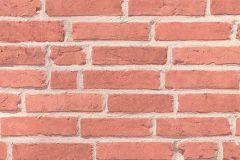 94283-1 cikkszámú tapéta.3d hatású,kőhatású-kőmintás,retro,narancs-terrakotta,lemosható,vlies tapéta