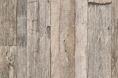 95931-2 cikkszámú tapéta.3d hatású,csíkos,fa hatású-fa mintás,fotórealisztikus,barna,szürke,súrolható,vlies tapéta