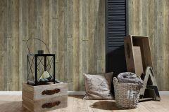 95931-3 cikkszámú tapéta.Csíkos,fa hatású-fa mintás,barna,szürke,súrolható,vlies tapéta