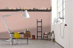 36879-5 cikkszámú tapéta.Absztrakt,különleges felületű,pink-rózsaszín,súrolható,vlies tapéta