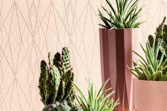 36879-6 cikkszámú tapéta.Absztrakt,különleges felületű,pink-rózsaszín,súrolható,vlies tapéta
