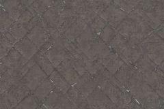 36881-6 cikkszámú tapéta.Absztrakt,különleges felületű,barna,ezüst,súrolható,vlies tapéta