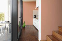 36882-4 cikkszámú tapéta.Egyszínű,különleges felületű,textil hatású,narancs-terrakotta,súrolható,illesztés mentes,vlies tapéta