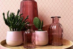 36883-3 cikkszámú tapéta.Absztrakt,különleges felületű,pink-rózsaszín,súrolható,vlies tapéta