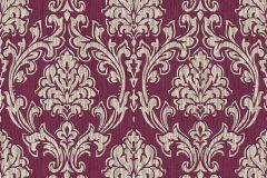 35702-2 cikkszámú tapéta.Barokk-klasszikus,retro,piros-bordó,vajszín,lemosható,vlies tapéta