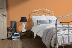35710-3 cikkszámú tapéta.Különleges felületű,narancs-terrakotta,lemosható,illesztés mentes,vlies tapéta