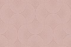 35715-3 cikkszámú tapéta.3d hatású,absztrakt,pink-rózsaszín,lemosható,illesztés mentes,vlies tapéta